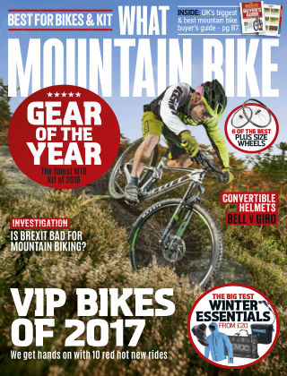 What Mountain Bike Jan 2017