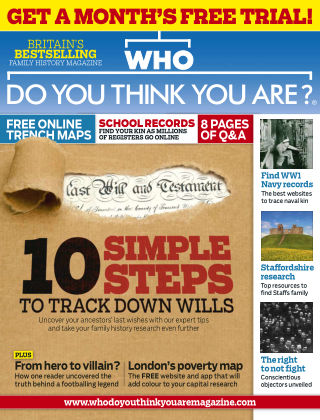 Who Do You Think You Are? Nov 2014