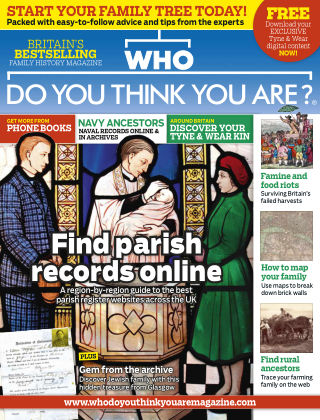 Who Do You Think You Are? Feb 2015