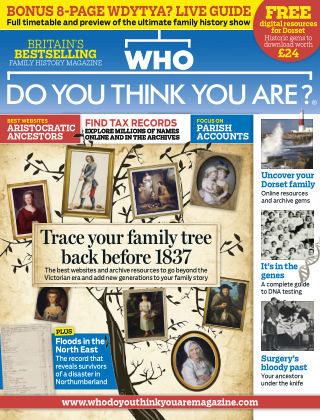 Who Do You Think You Are? Apr 2015