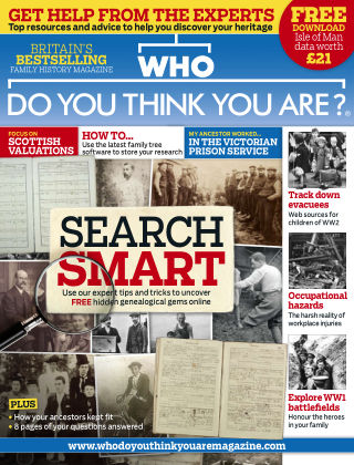 Who Do You Think You Are? Aug 2016