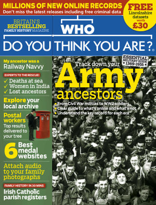 Who Do You Think You Are? November 2017