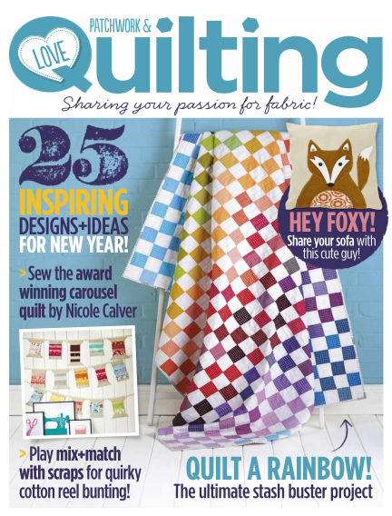 Love Patchwork & Quilting January 07, 2015 00:00