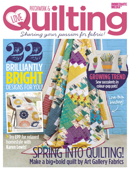 Love Patchwork & Quilting March 04, 2015 00:00
