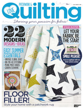 Love Patchwork & Quilting Issue 24