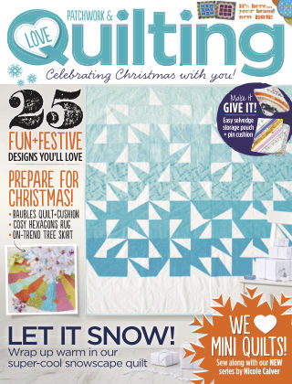 Love Patchwork & Quilting Issue 27