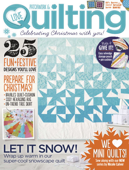 Love Patchwork & Quilting October 14, 2015 00:00