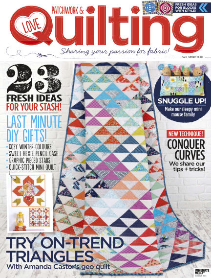 Love Patchwork & Quilting November 11, 2015 00:00