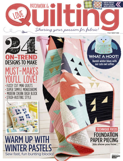 Love Patchwork & Quilting December 09, 2015 00:00