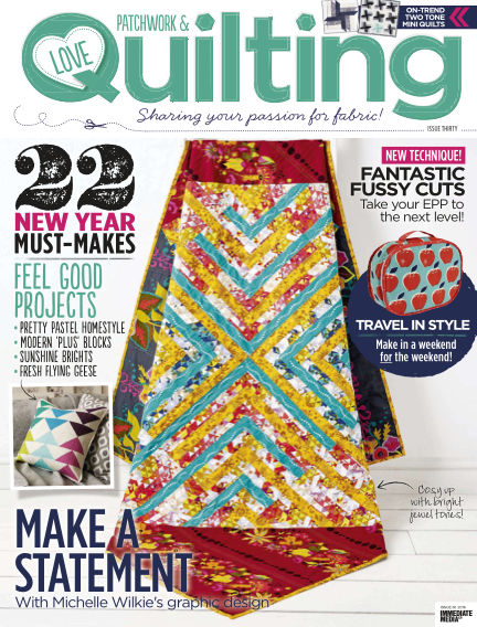 Love Patchwork & Quilting January 06, 2016 00:00