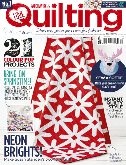 Love Patchwork & Quilting February 03, 2016 00:00