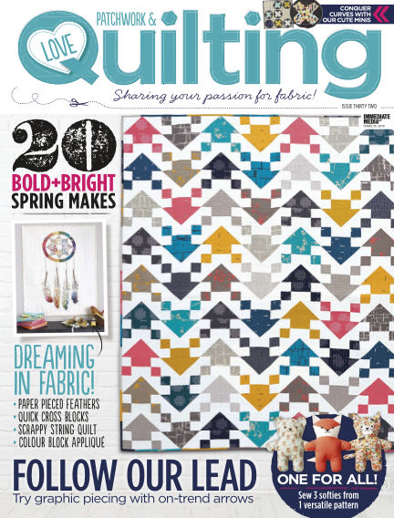 Love Patchwork & Quilting March 02, 2016 00:00