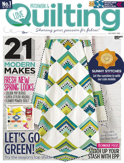 Love Patchwork & Quilting March 30, 2016 00:00