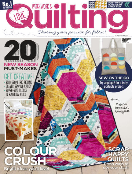 Love Patchwork & Quilting April 27, 2016 00:00