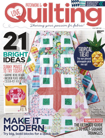 Love Patchwork & Quilting May 25, 2016 00:00