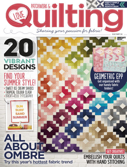 Love Patchwork & Quilting June 22, 2016 00:00