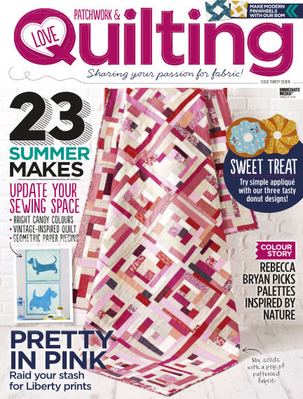 Love Patchwork & Quilting July 20, 2016 00:00