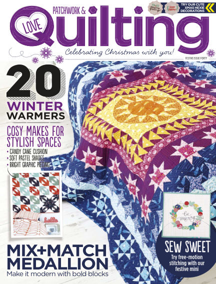 Love Patchwork & Quilting October 12, 2016 00:00