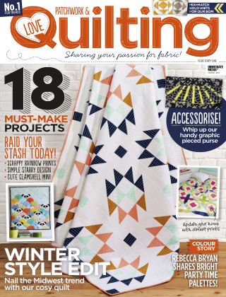 Love Patchwork & Quilting Issue 41