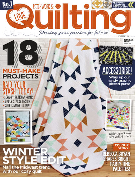 Love Patchwork & Quilting November 09, 2016 00:00