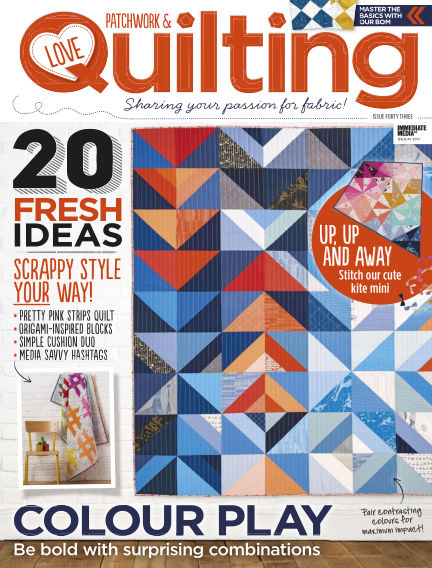Love Patchwork & Quilting January 04, 2017 00:00