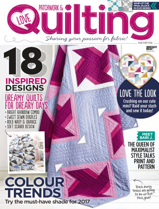 Love Patchwork & Quilting Issue 44