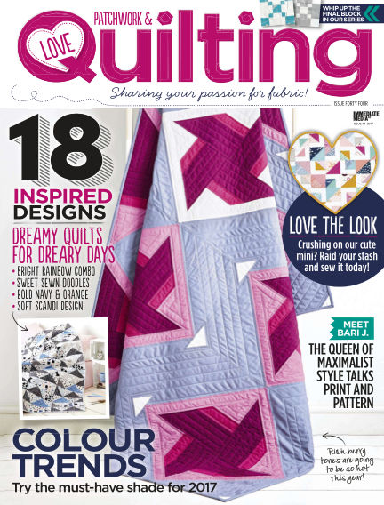 Love Patchwork & Quilting February 01, 2017 00:00
