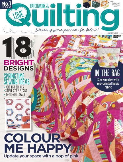 Love Patchwork & Quilting March 01, 2017 00:00