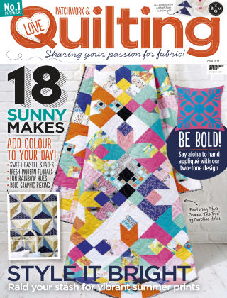 Love Patchwork & Quilting Issue 50