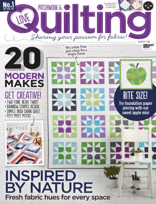 Love Patchwork & Quilting Issue 51