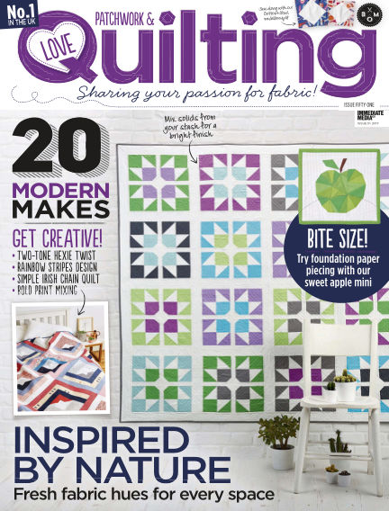 Love Patchwork & Quilting August 16, 2017 00:00