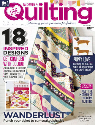 Love Patchwork & Quilting Issue 52