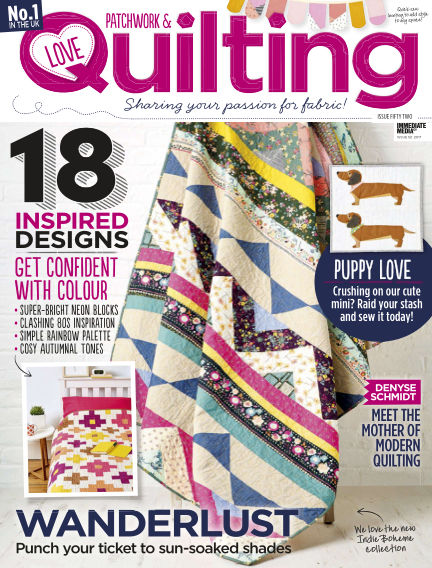 Love Patchwork & Quilting September 13, 2017 00:00