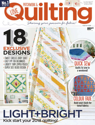 Love Patchwork & Quilting Issue 57