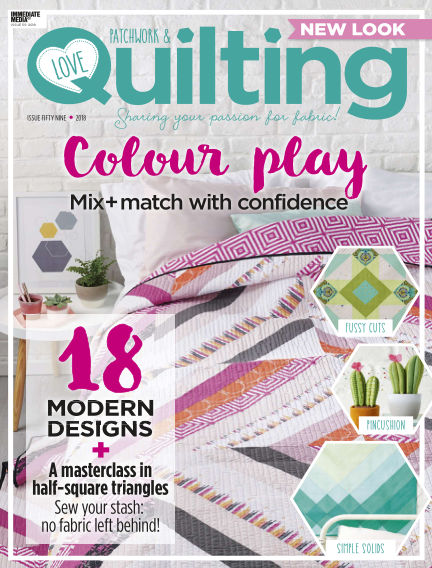 Love Patchwork & Quilting March 22, 2018 00:00