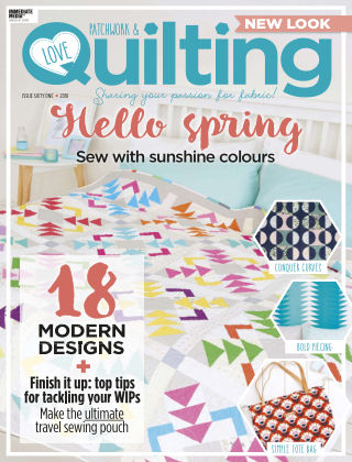 Love Patchwork & Quilting Issue 61