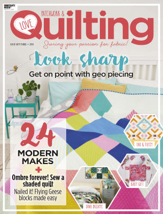 Love Patchwork & Quilting Issue 63
