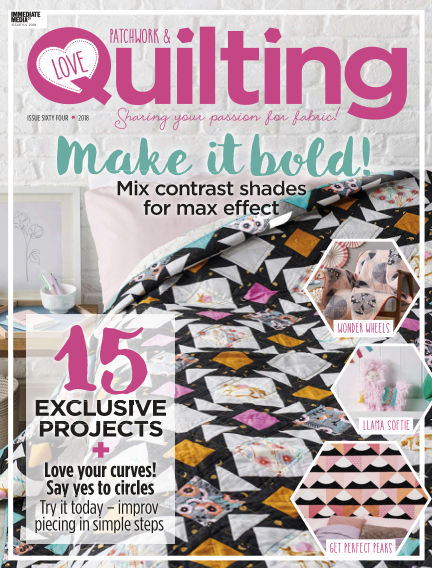 Love Patchwork & Quilting August 09, 2018 00:00