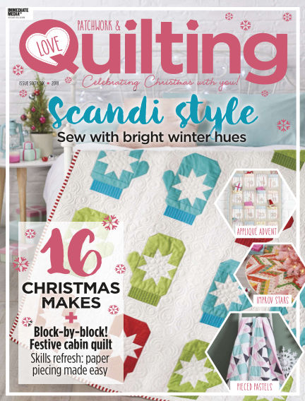 Love Patchwork & Quilting October 04, 2018 00:00