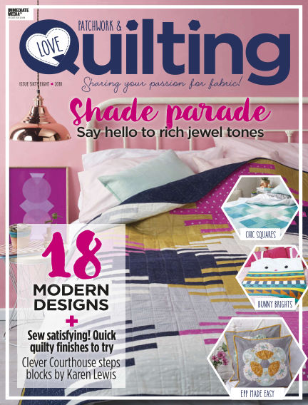 Love Patchwork & Quilting November 29, 2018 00:00