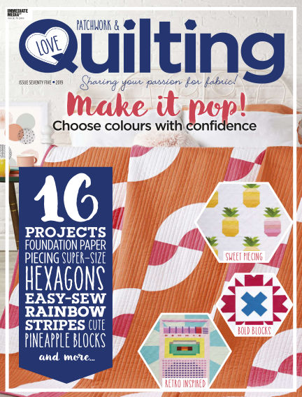 Love Patchwork & Quilting June 12, 2019 00:00