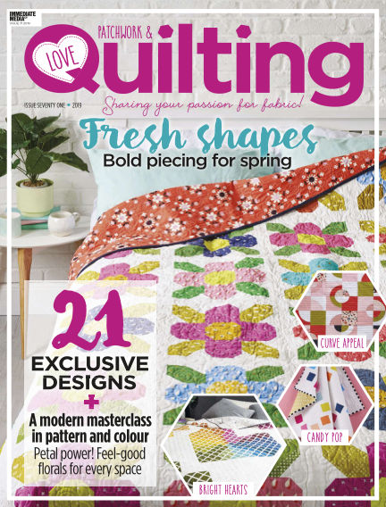 Love Patchwork & Quilting February 20, 2019 00:00