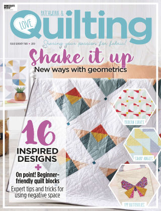 Love Patchwork & Quilting Issue72