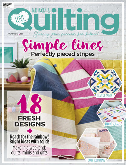 Love Patchwork & Quilting January 23, 2019 00:00