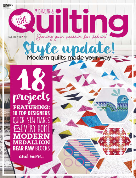 Love Patchwork & Quilting November 27, 2019 00:00
