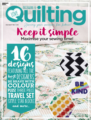 Love Patchwork & Quilting Issue82