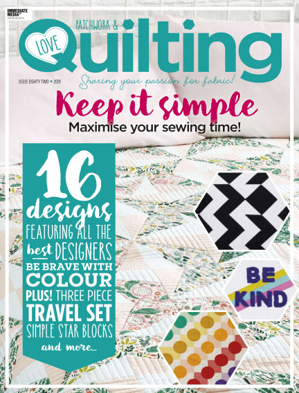 Love Patchwork & Quilting December 24, 2019 00:00
