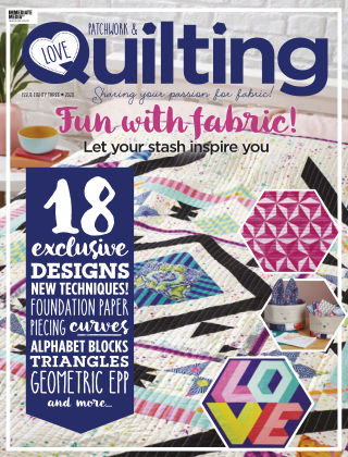 Love Patchwork & Quilting Issue83