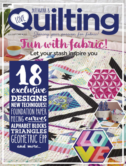 Love Patchwork & Quilting January 22, 2020 00:00