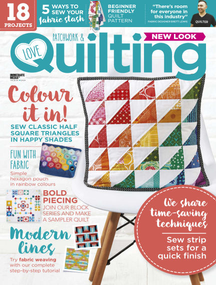 Love Patchwork & Quilting March 18, 2020 00:00